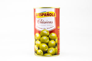 Green olives stuffed with anchovies Classic
