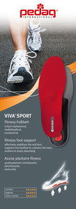 pedag Viva Sport Full Length Semi-Rigid Orthotic for Impact Sports