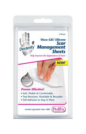 PediFix Visco-GEL® Silicone Scar Management Sheets