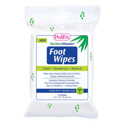 Tea Tree Ultimates® Foot Wipes