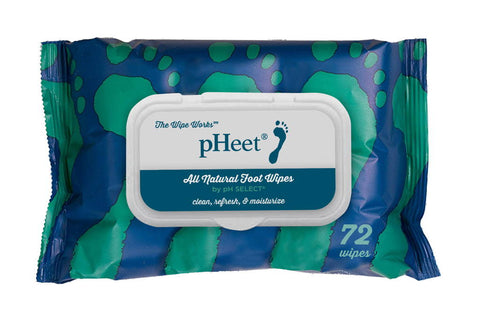 pHeet Moisturizing & Cleansing Foot Wipes