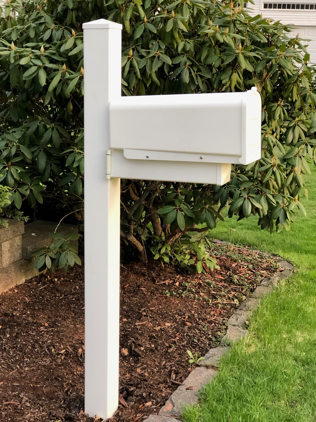 The First Lady-Swing Hinge Mailbox & Post