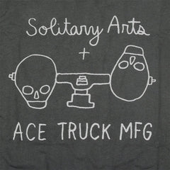 Solitary Arts x ACE TRUCK MFG T-Shirt - Black