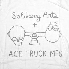 Solitary Arts x ACE TRUCK MFG T-Shirt - White