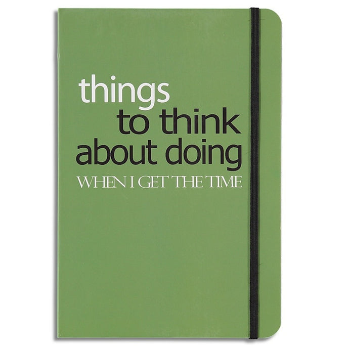 things to think about - lined notebook