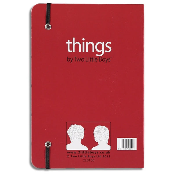 things to worry about - lined notebook