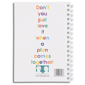 I'm going to be really rather naughty - A6 size notebook