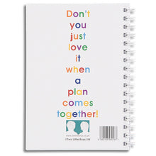 I'm going to rule the world - A6 size notebook