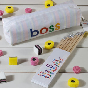 boss - pencil case
