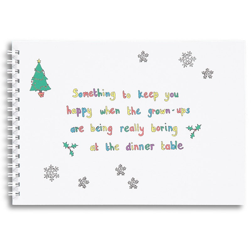 Something to keep you happy - Christmas activity book for children