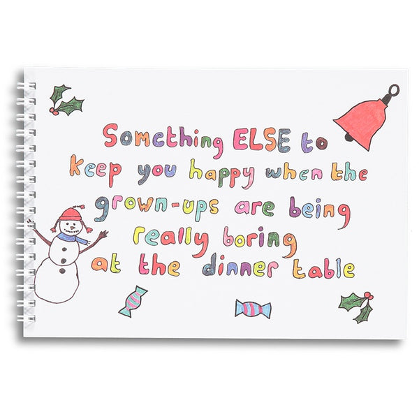 Something Else To Keep You Happy - Christmas Activity Book