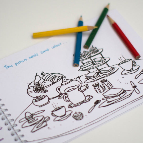 Something to keep you happy - activity book for children