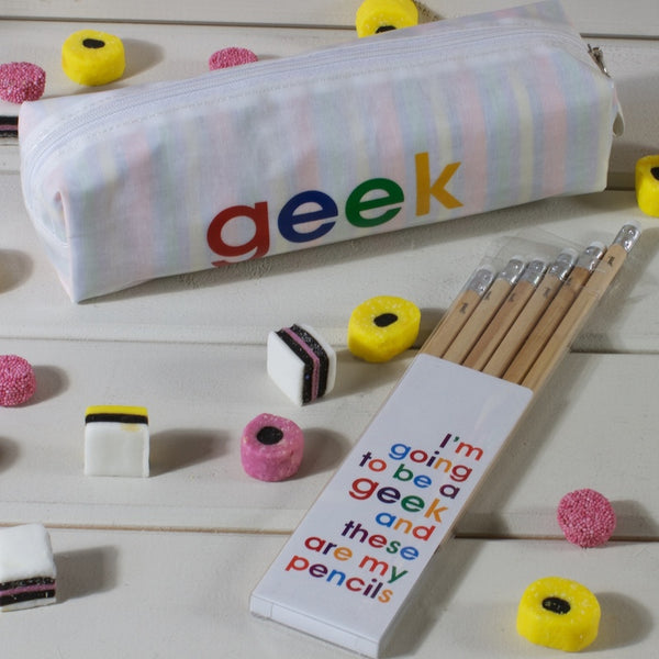 geek - pencil set