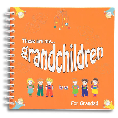 These are my grandchildren - for Grandad
