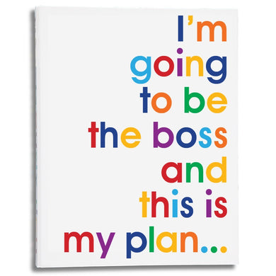 I'm going to be the boss - A4 size folder