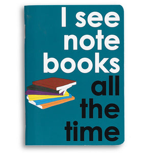 I see notebooks all the time - little notebook