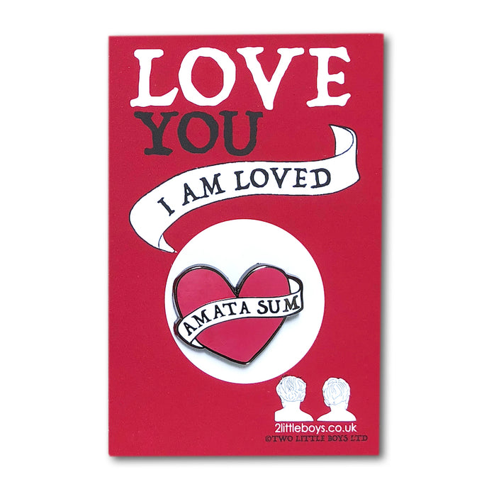 Love You - Enamel Pin