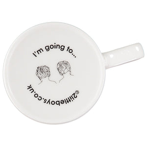 ridiculously rich - slogan porcelain mug
