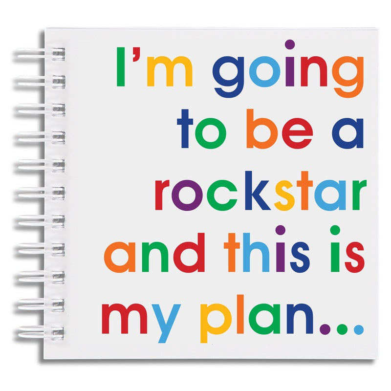 I'm going to be a rockstar - doodle pad