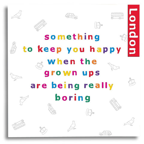 Something to Keep you Happy - London Activity Book