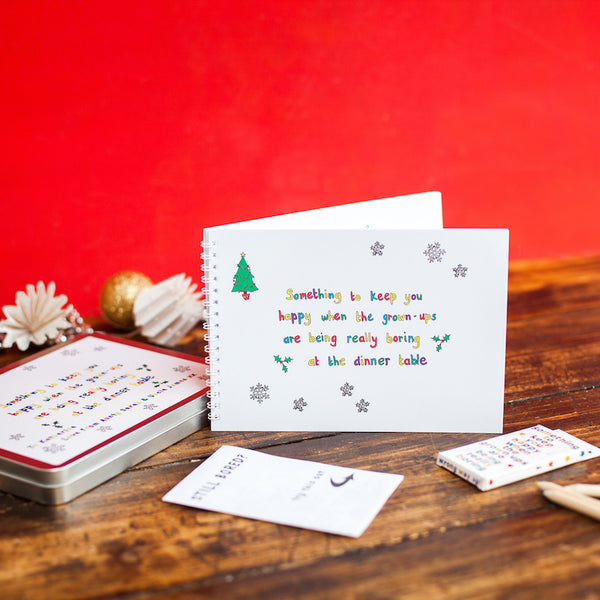 Personalised Christmas Activity Pack for Children