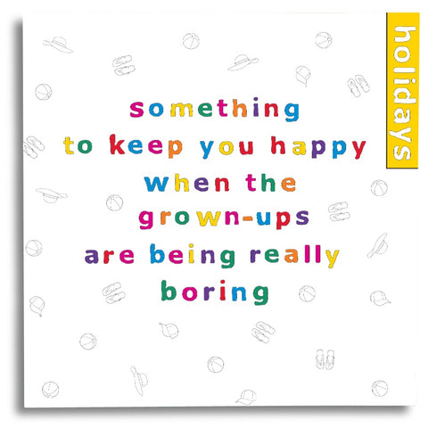 Something to Keep you Happy - Holidays Activity Book
