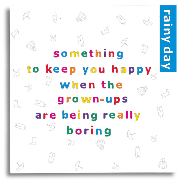 Something to Keep you Happy - Rainy Day Activity Book