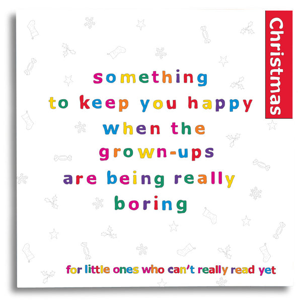 Something to Keep you Happy - Christmas - For Younger Kids