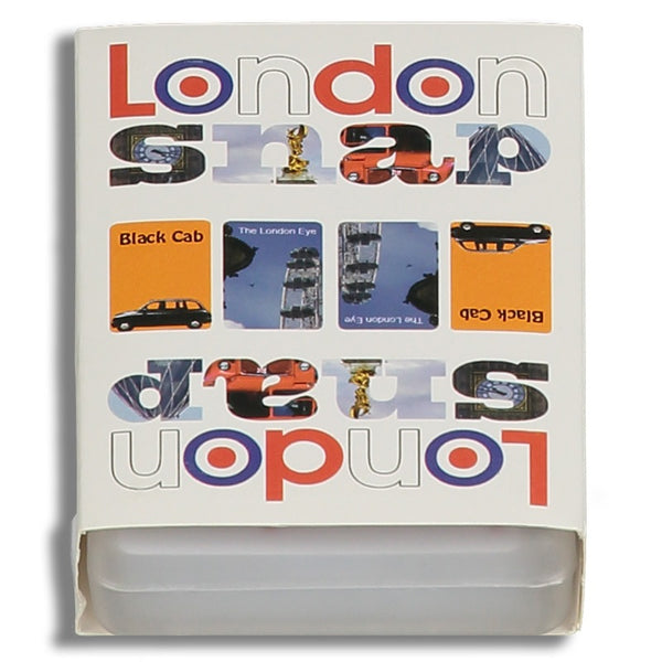 Snap card game - London