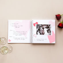 Personalised Marriage Memories Book - How We Met to 50th Wedding Anniversary