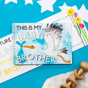 This is my baby brother - keepsake book