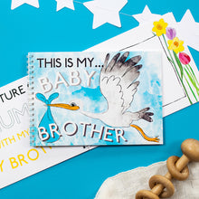 Personalised - This is my Baby Brother - Activity Pack