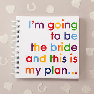 I'm going to be the bride - doodle pad