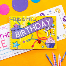 This is my birthday - keepsake book