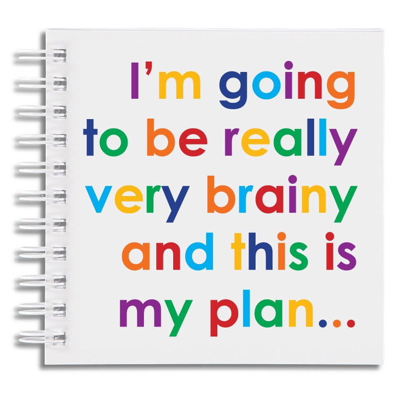 I'm going to be very brainy - notebook