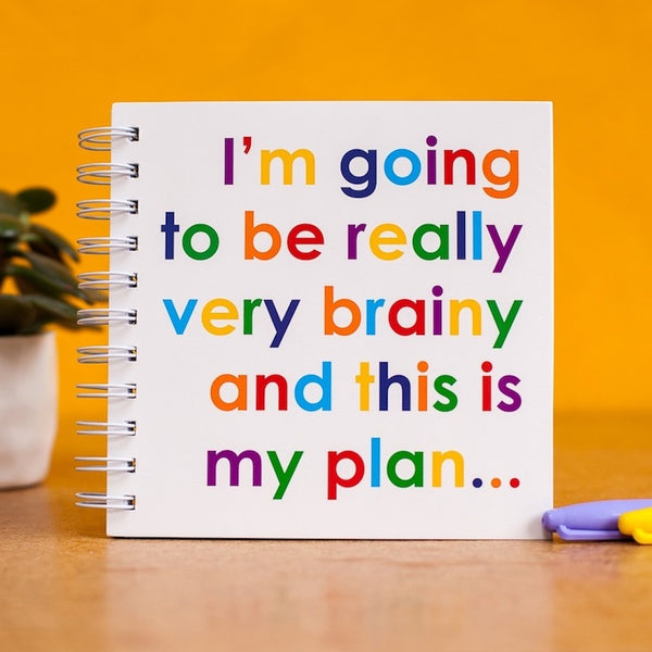 I'm going to be very brainy - doodle pad