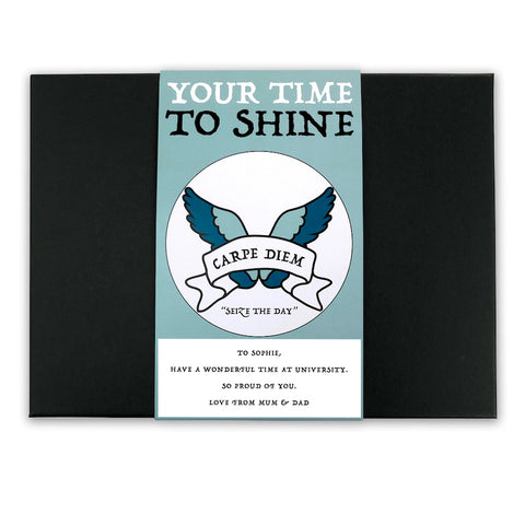Seize the Day - Latin Motto - Personalised Gift Box