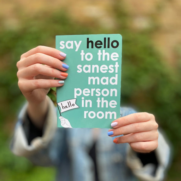 Say Hello Notebook