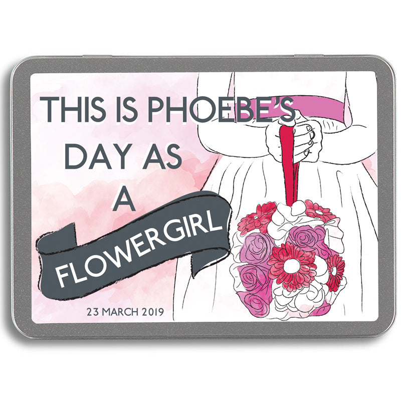 Personalised My Day As A Flowergirl Pack