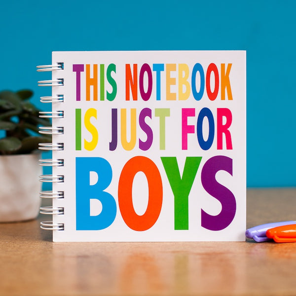 Just for Boys doodle pad