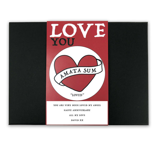 I Am Loved - Latin Motto - Personalised Gift Box