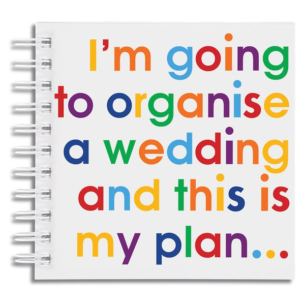 I'm going to organise a wedding - doodle pad