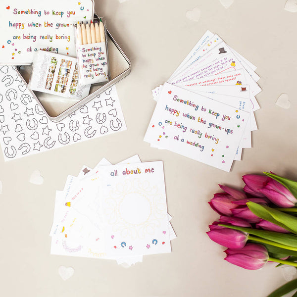 Something to Keep You Happy - Wedding Activity Pack for Children