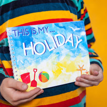This is my holiday - keepsake book
