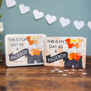Personalised My Day As A Pageboy Pack