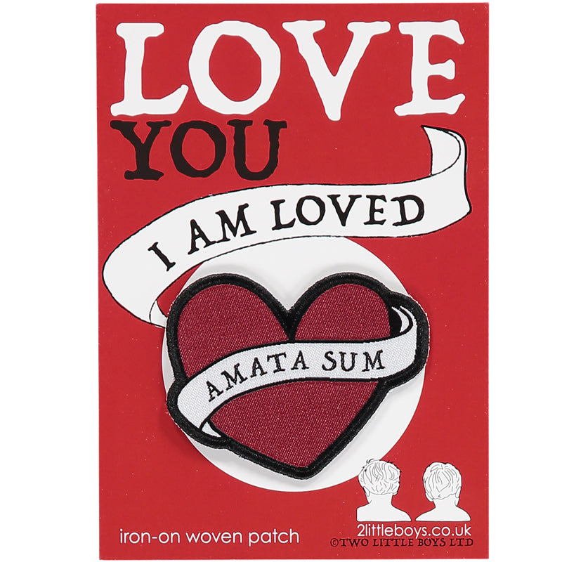 Love You - Woven Patch