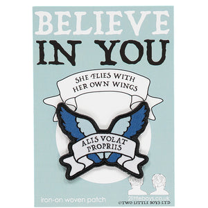 Believe in You - Woven Patch