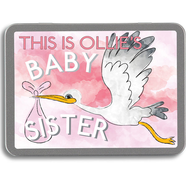 Personalised - This is my Baby Sister - Activity Pack