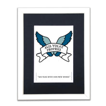 She Flies With Her Own Wings - A5 Framed