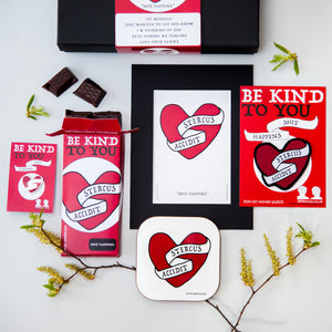 Shit Happens - Latin Motto - Personalised Gift Box